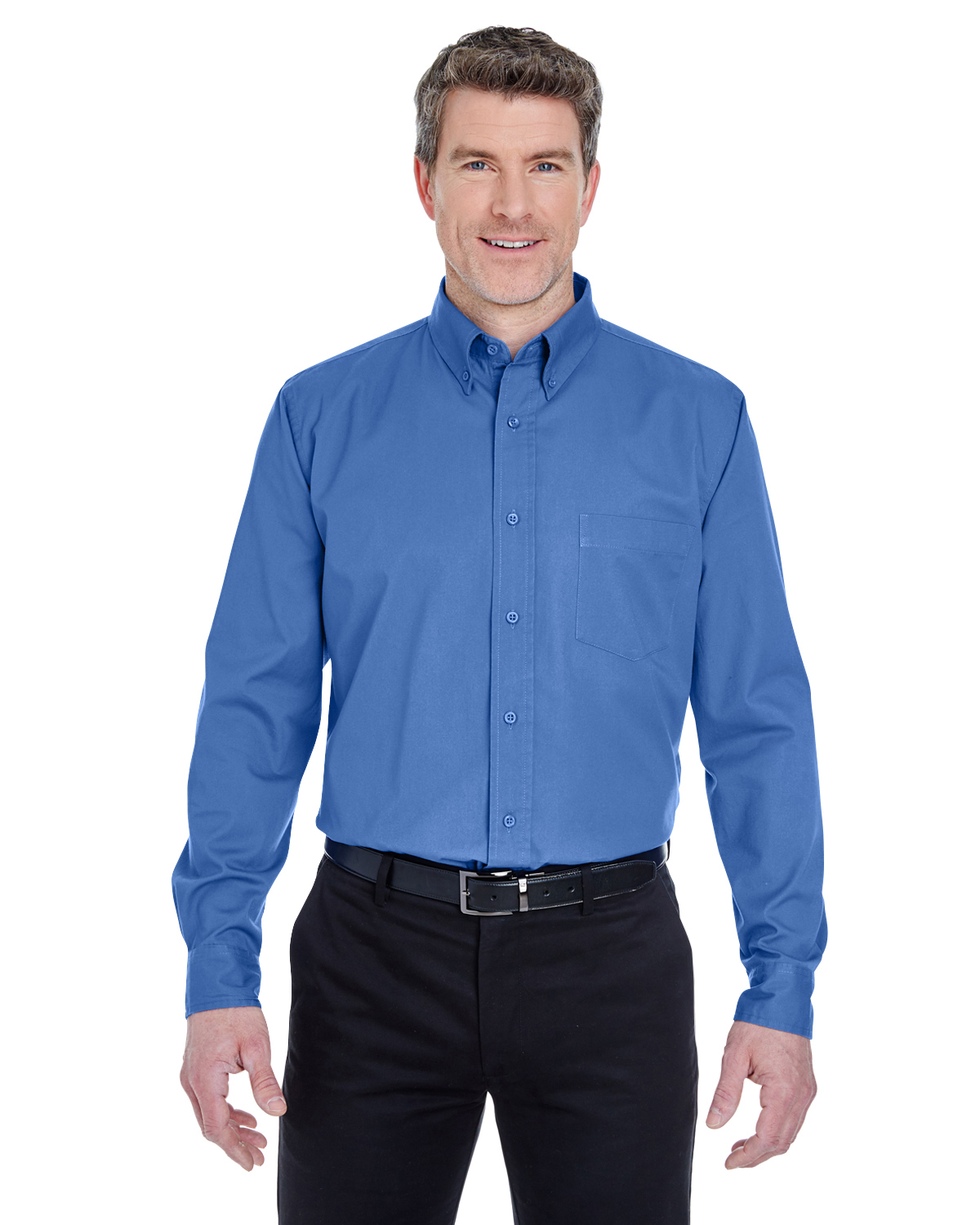 Ultra Club 8975T - Men's Tall Whisper Twill Shirt