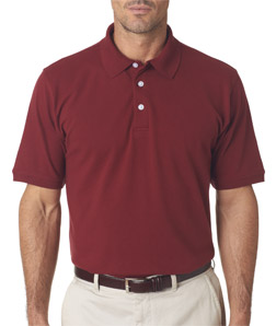 UltraClub 7500 - Men's Classic Platinum Polo