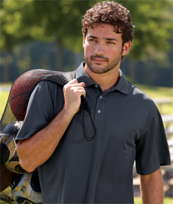 UltraClub 8405T - Men's Tall Cool & Dry Sport Polo