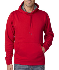 UltraClub 8441 - Adult Cool & Dry Sport Hooded Fleece