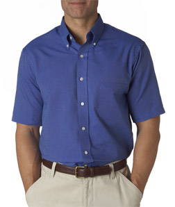 Van Heusen 57850 - Men's Classic Short-Sleeve Oxford