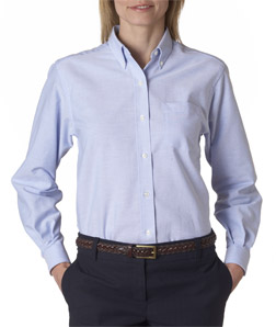 Van Heusen 58800 - Ladies' Classic Long-Sleeve Oxford