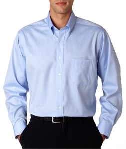 Van Heusen V0143 - Men's Long-Sleeve Non-Iron Pinpoint ...