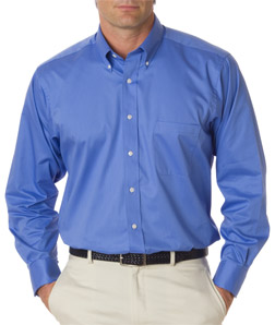 Van Heusen V0521 - Men's Long-Sleeve Dress Twill