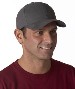 Yupoong 6363 - Solid Brushed Cotton Twill Cap