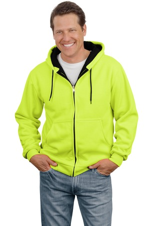 CornerStone CS620S - Safety Heavyweight Full-Zip Hooded ...