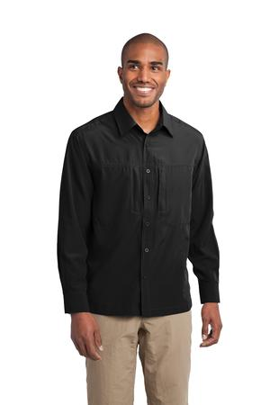 Eddie Bauer® EB604 Long Sleeve Performance Travel ...
