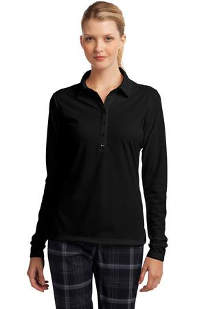 Nike Golf 545322 Ladies Long Sleeve Dri-FIT Stretch ...