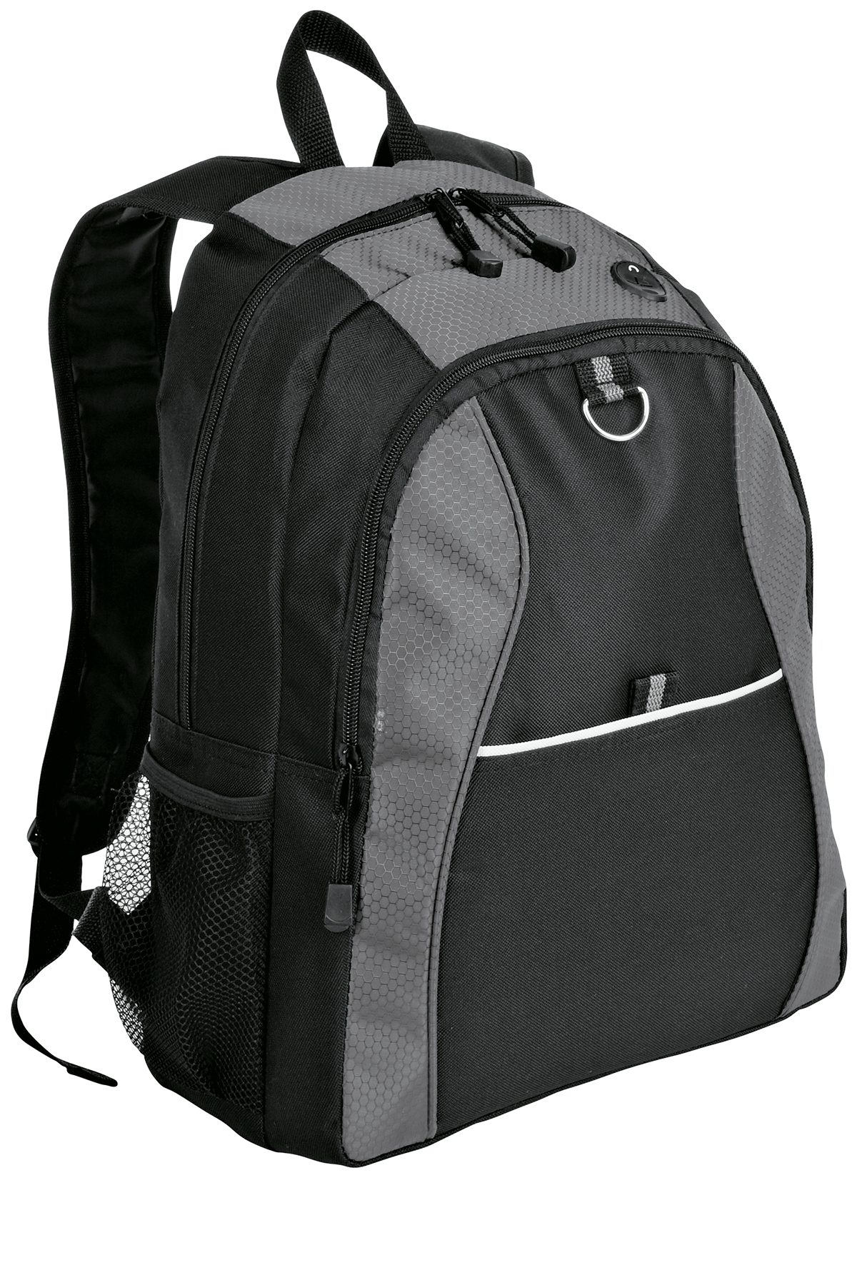 Port & Company BG1020 Improved Contrast Honeycomb Backpack
