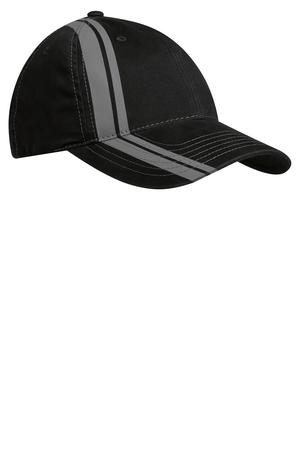 Port Authority® C825 Double Stripe Cap