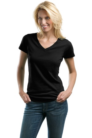 Port Authority® LM1002 Ladies Concept V-Neck Tee