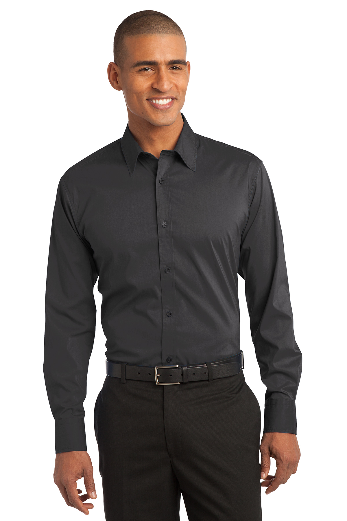 Port Authority® S646 Stretch Poplin Shirt