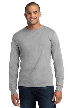 Port & Company® USA100LS Long Sleeve All-American ...