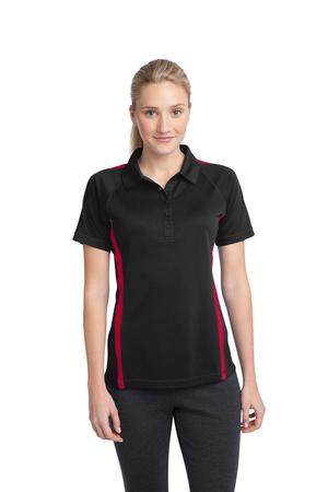 Sport-Tek® LST685 Ladies PosiCharge Micro-Mesh™ Colorblock Polo