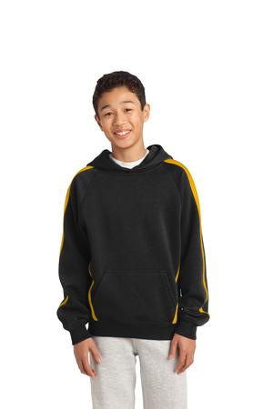 Sport-Tek® YST265 Youth Sleeve Stripe Pullover Hooded ...