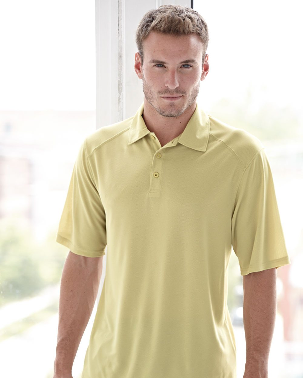 Augusta Sportswear 5001 - Vision Textured Knit Sport Shirt