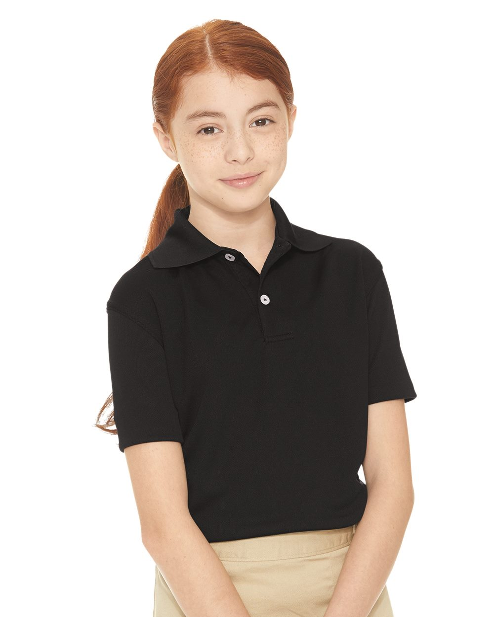 FeatherLite 4469 - Youth Moisture Free Mesh Sport Shirt