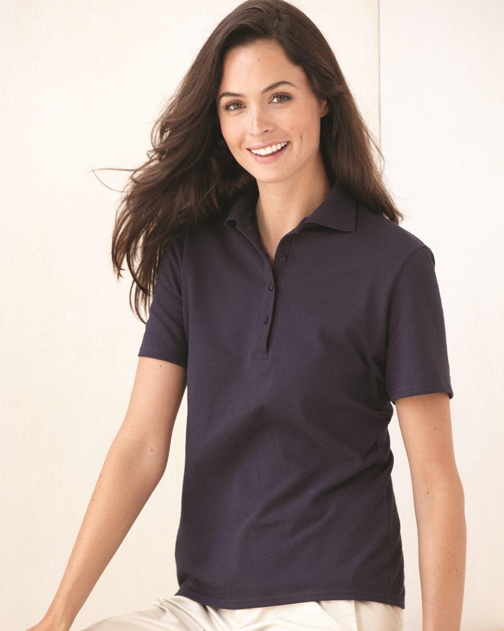 Hanes 035X - Ladies' Cotton Pique Sport Shirt