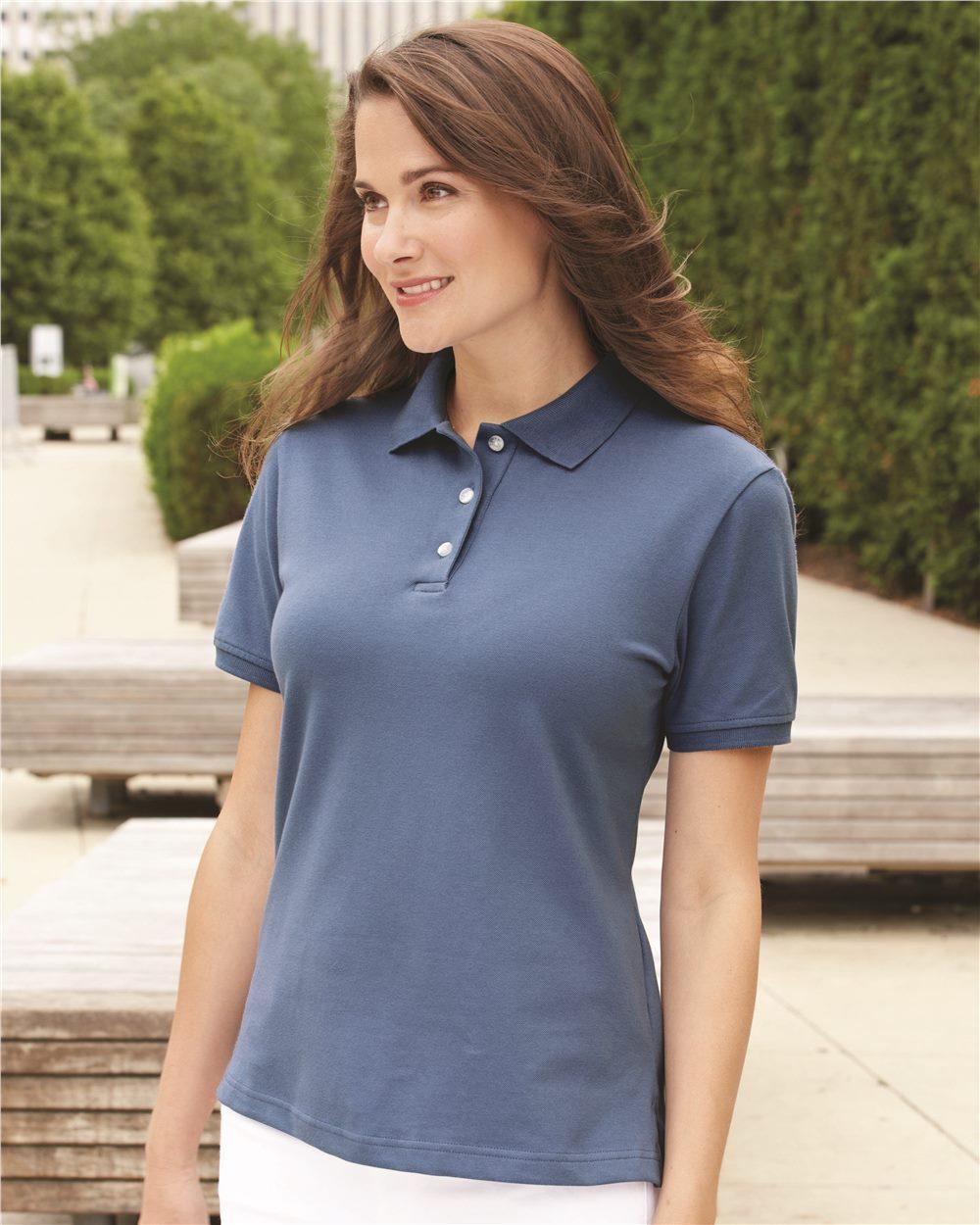 IZOD 13Z0063 - Ladies' Classic Silkwash Pique Sport Shirt