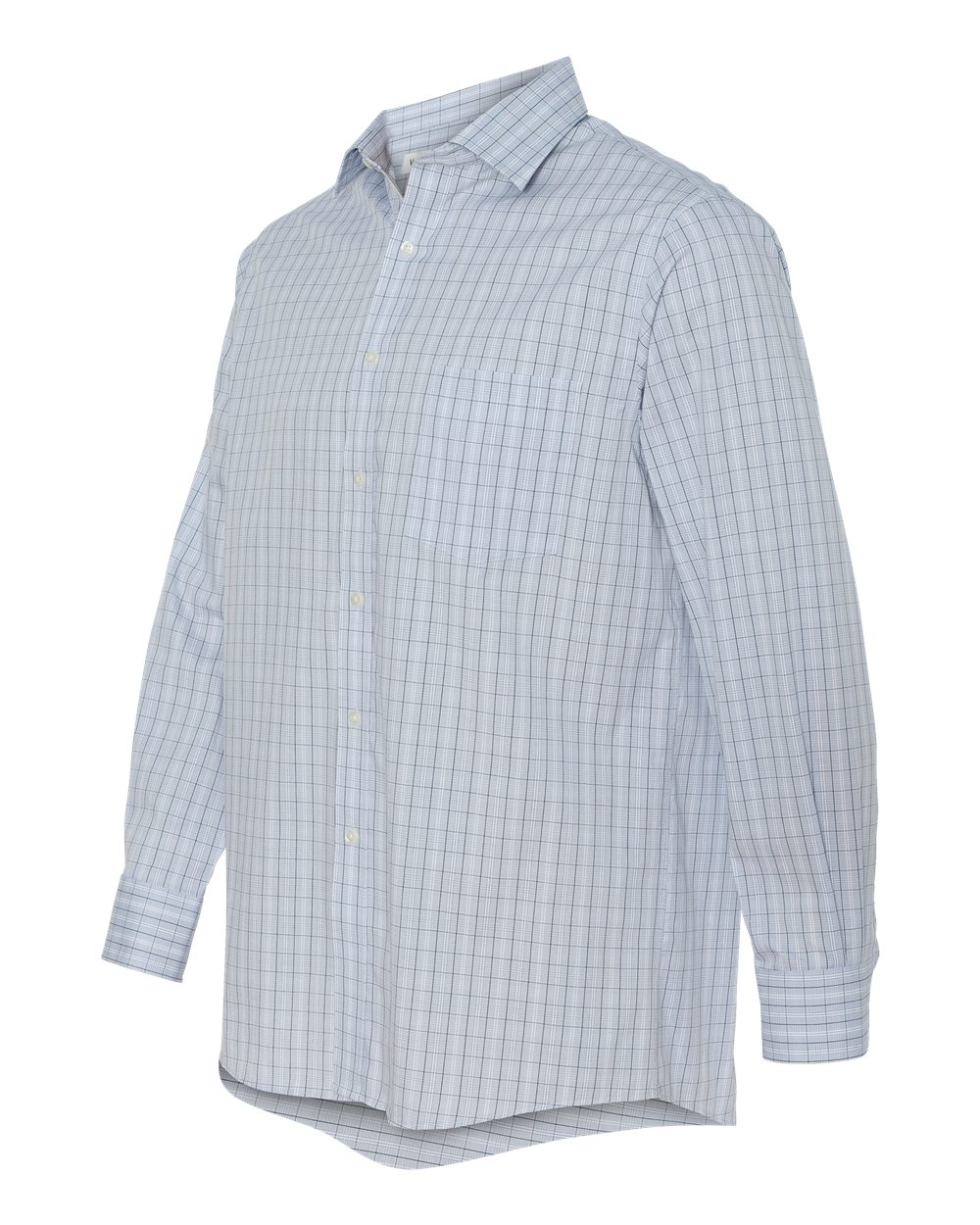 Van Heusen 13V0227 - Pinpoint Suiting Check Shirt