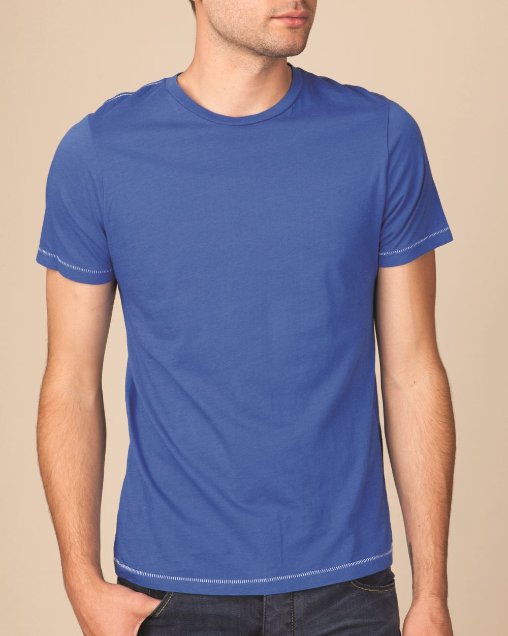 Alternative 1040 - Mickey Contrast Stitch T-Shirt
