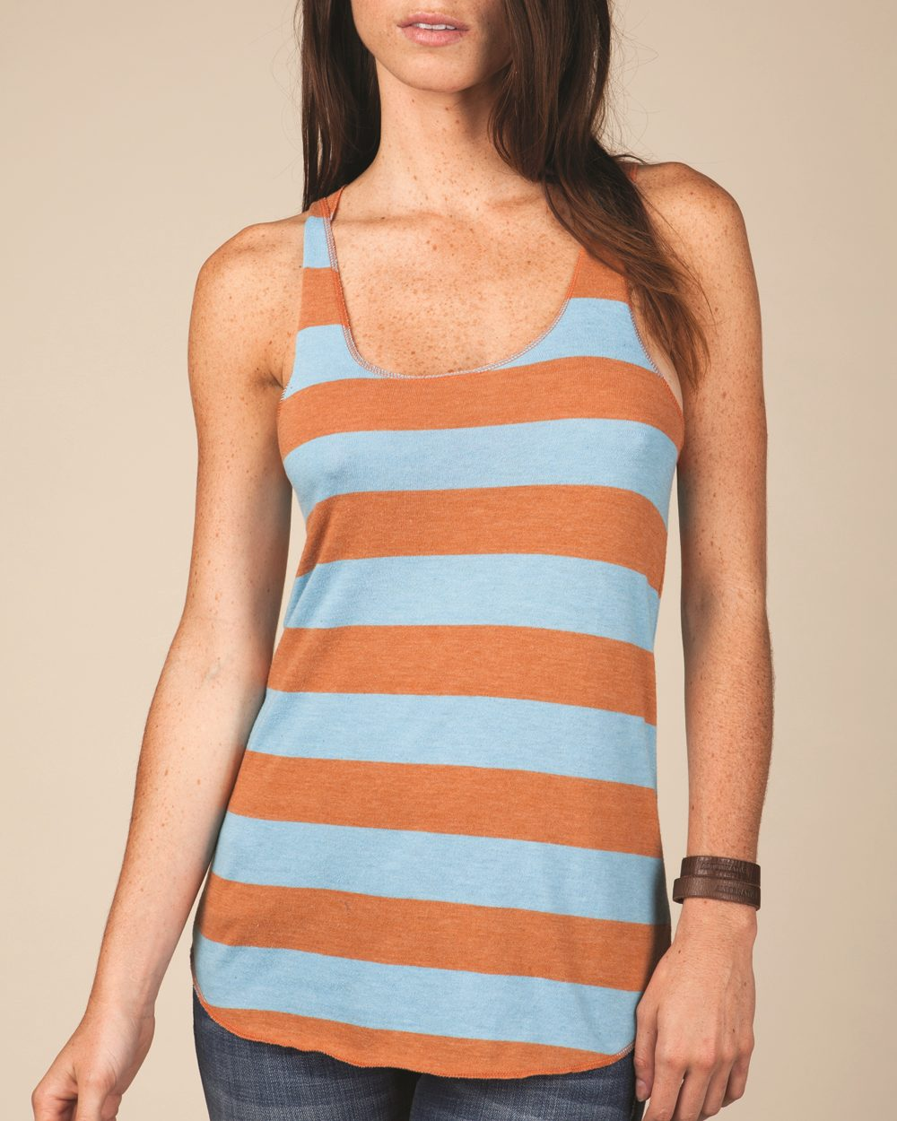 Alternative 1927ej - Ladies' Meegs Eco Jersey Ugly Stripe ...