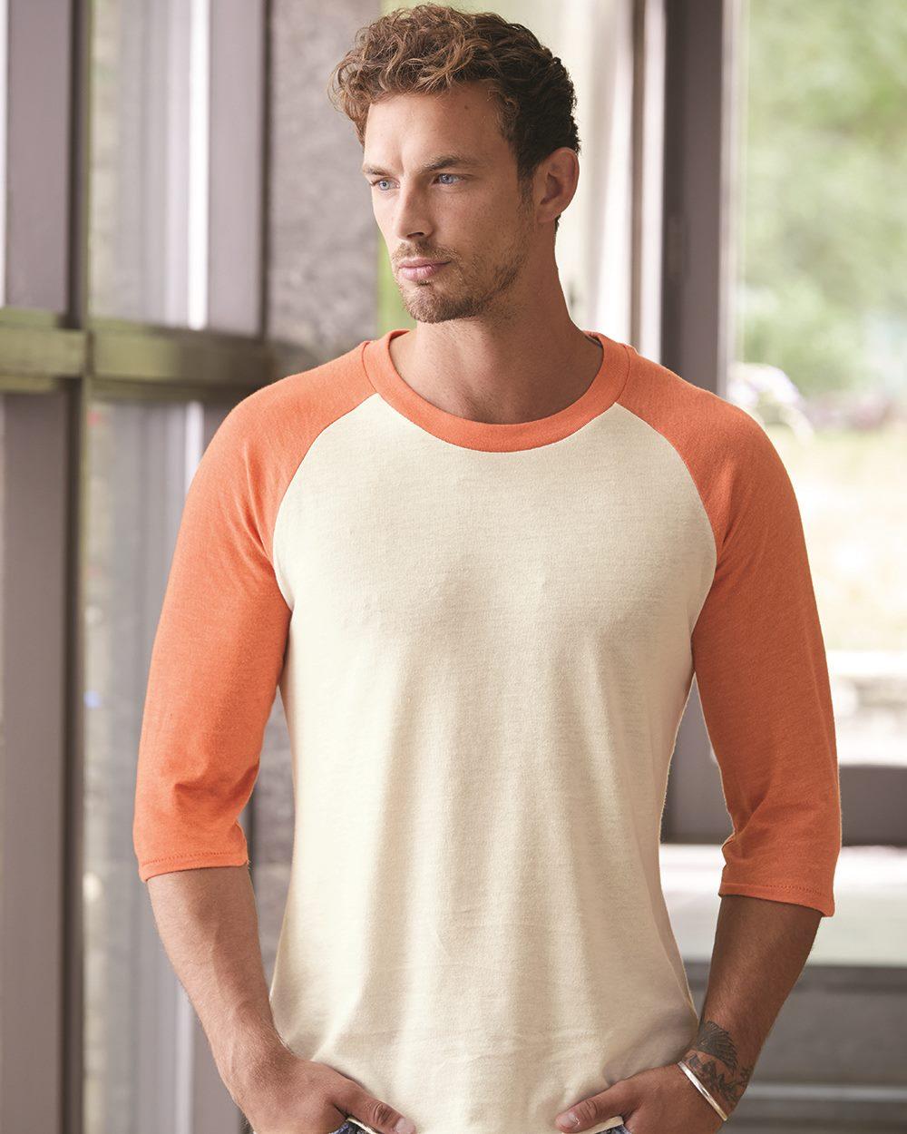 Alternative 2089e1 - Eco-Jersey Baseball T-Shirt