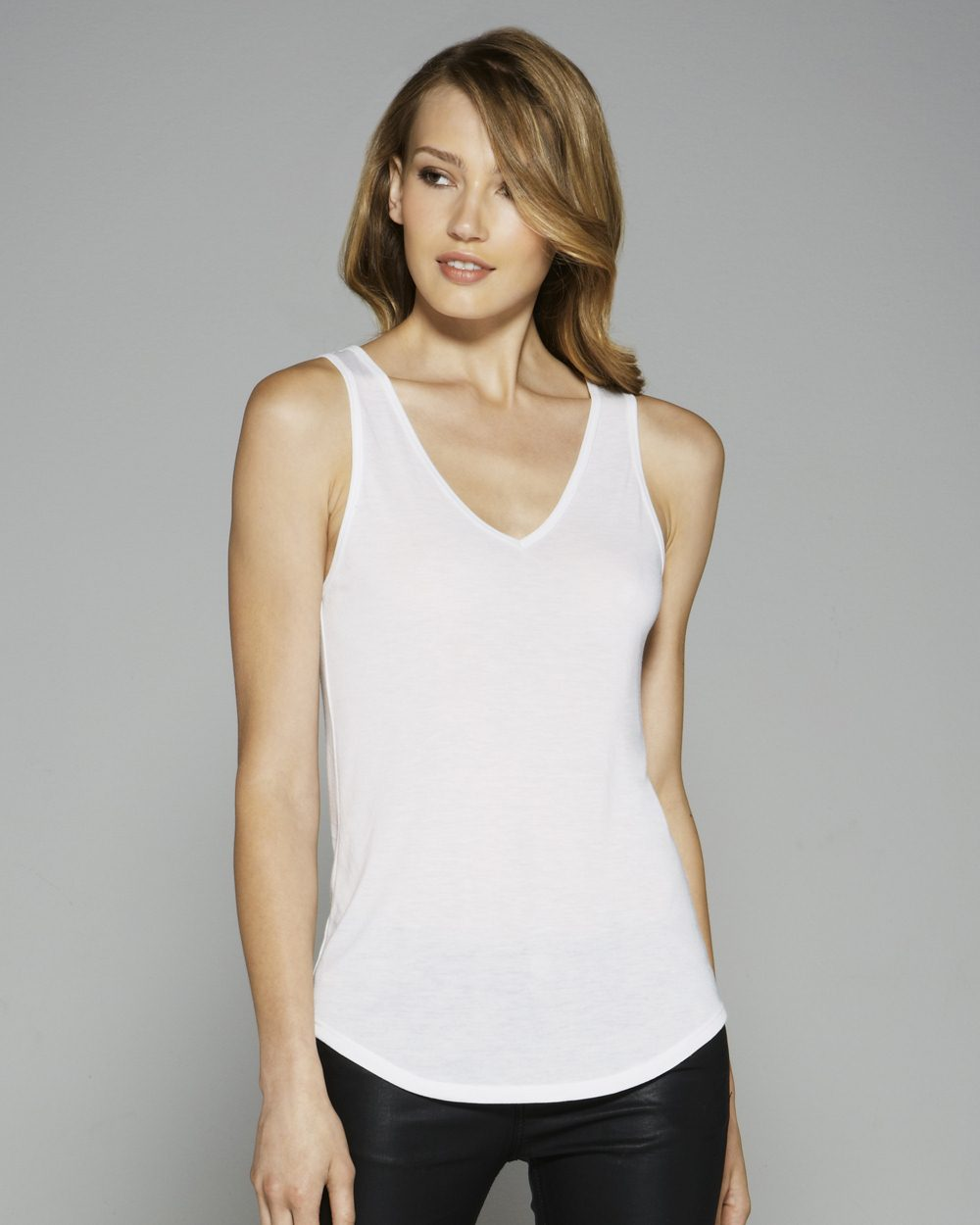 77e978ba Bella 8805 - Ladies' Flowy V-Neck Tank $7.16 - Women's Tanks