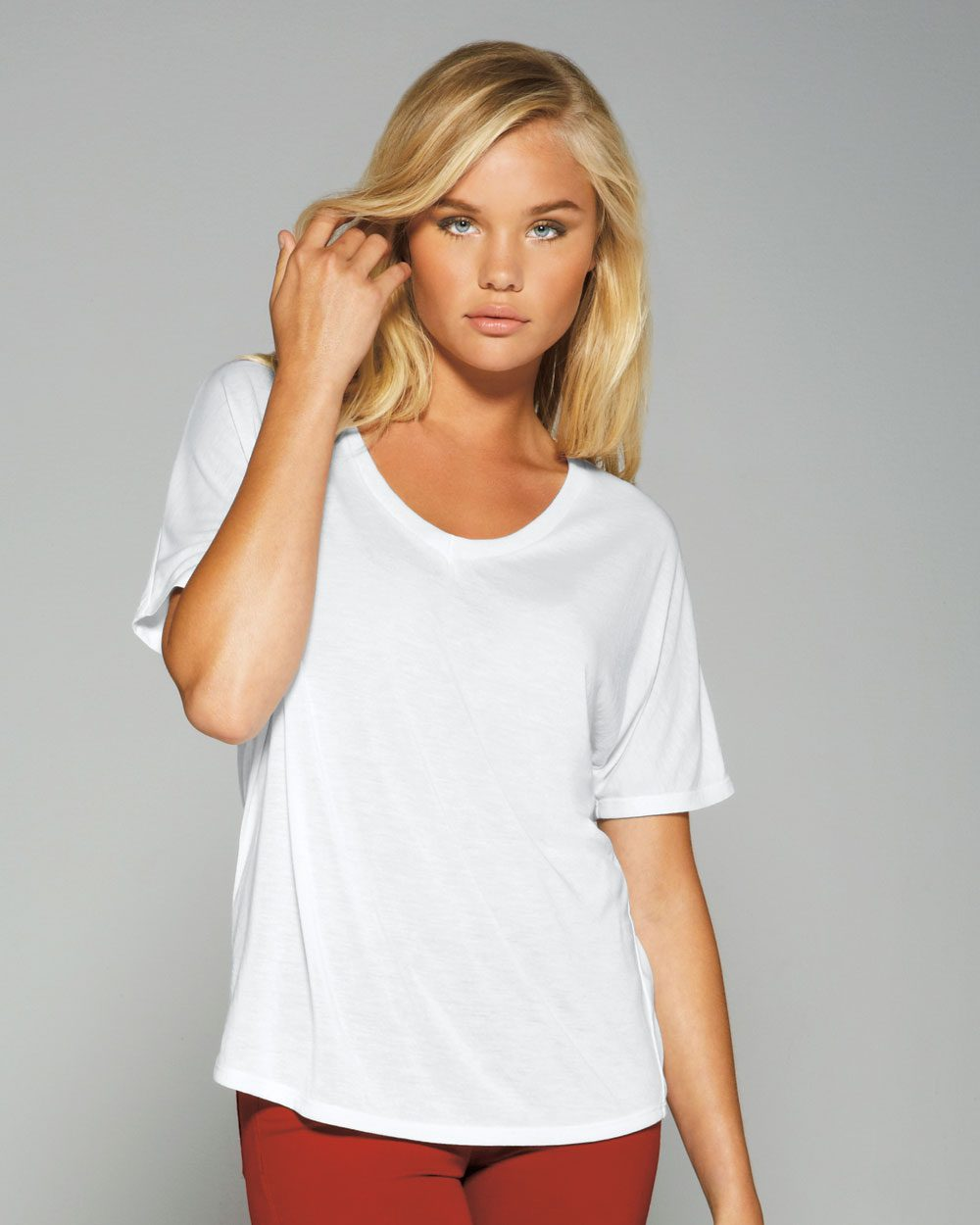 Bella 8816 - Ladies' Flowy Simple Tee