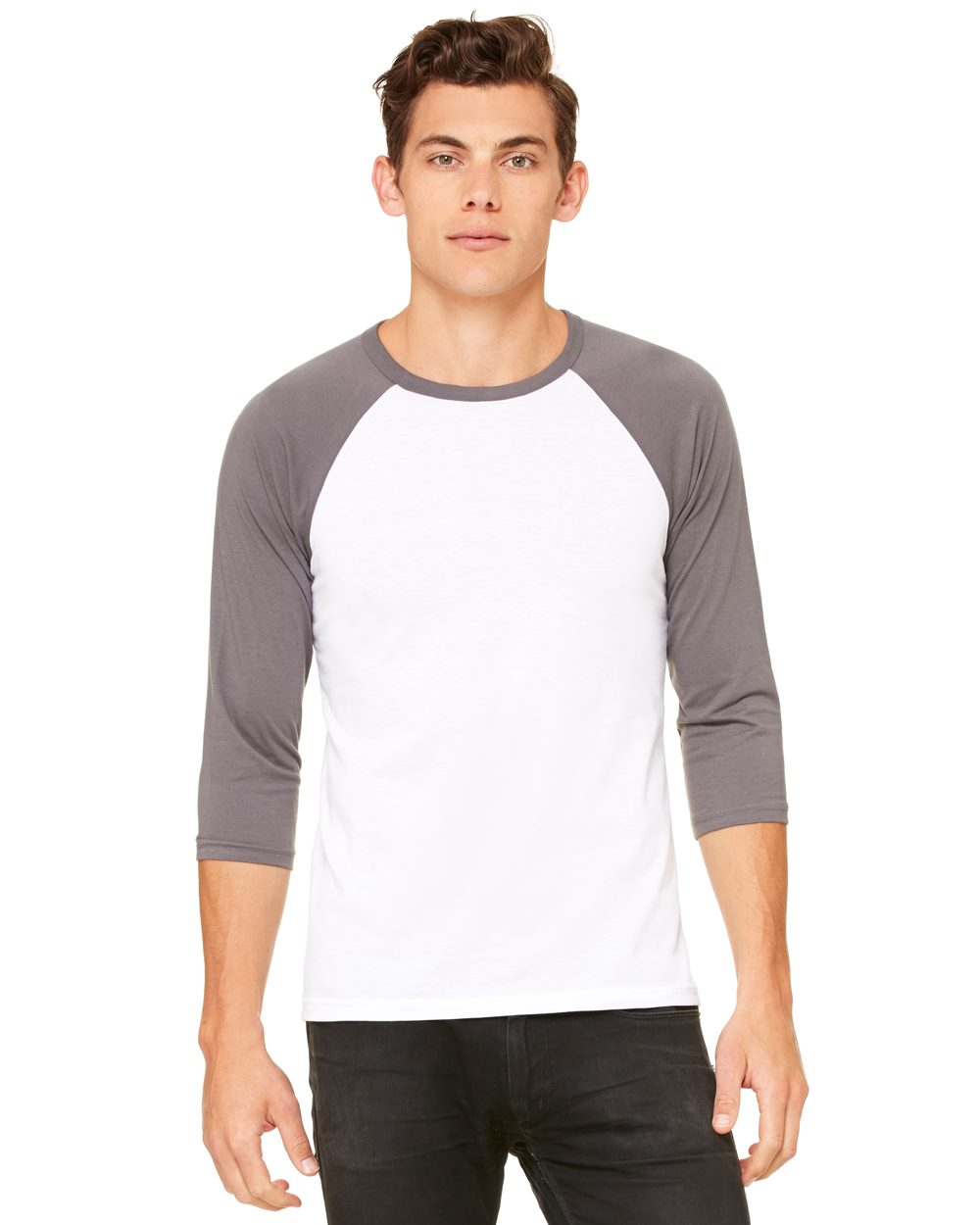 Canvas 3200 - Unisex Three-Quarter Sleeve Baseball Raglan