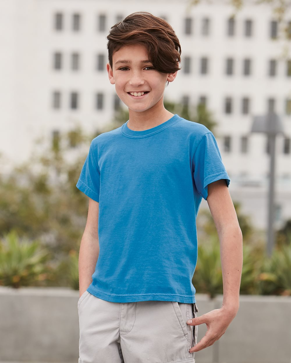 ad3ab60d Comfort Colors 9018 - Youth Pigment-Dyed Ringspun T-Shirt $5.35 ...