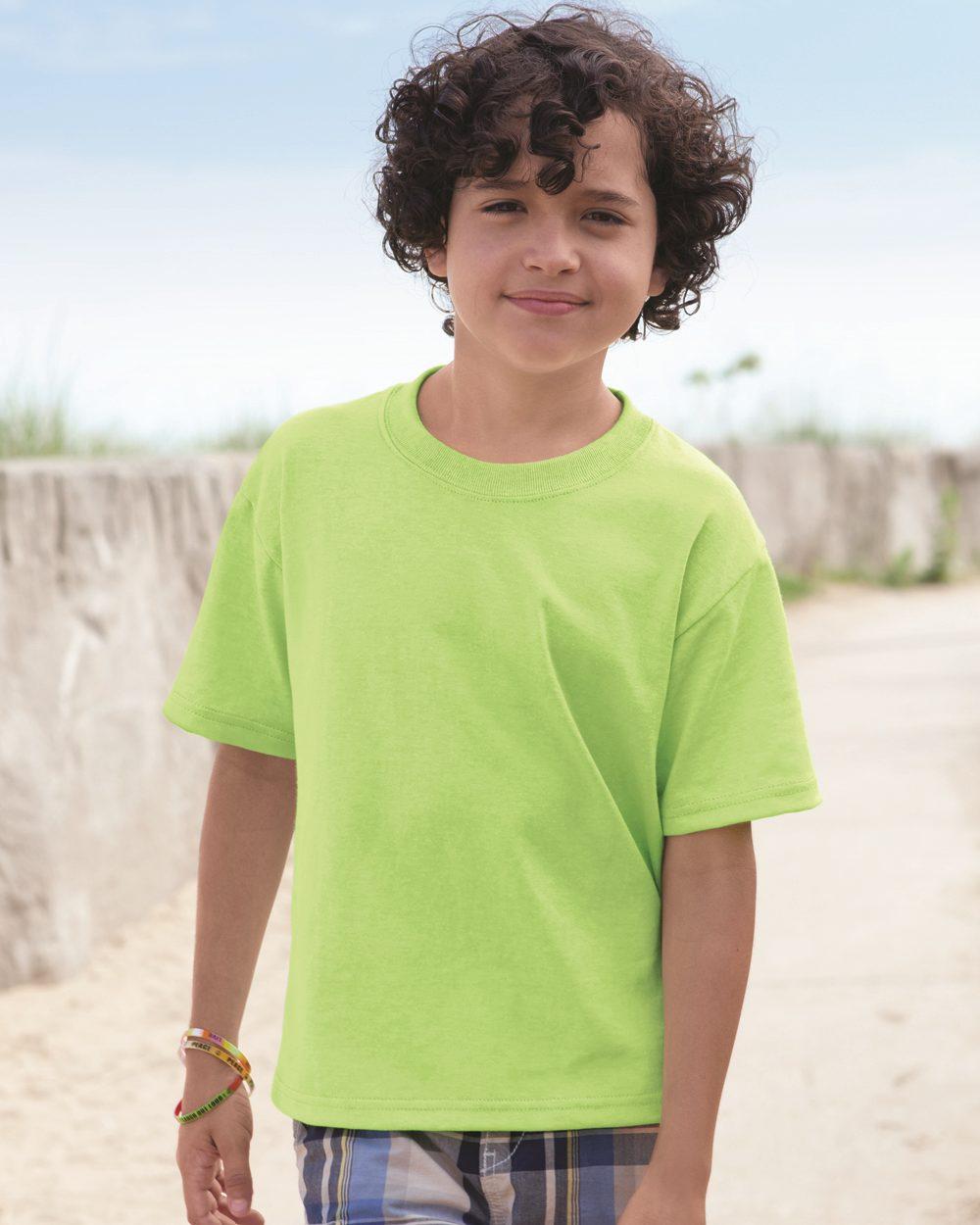 Jerzees 29BR - Heavyweight Blend 50/50 Youth T-Shirt