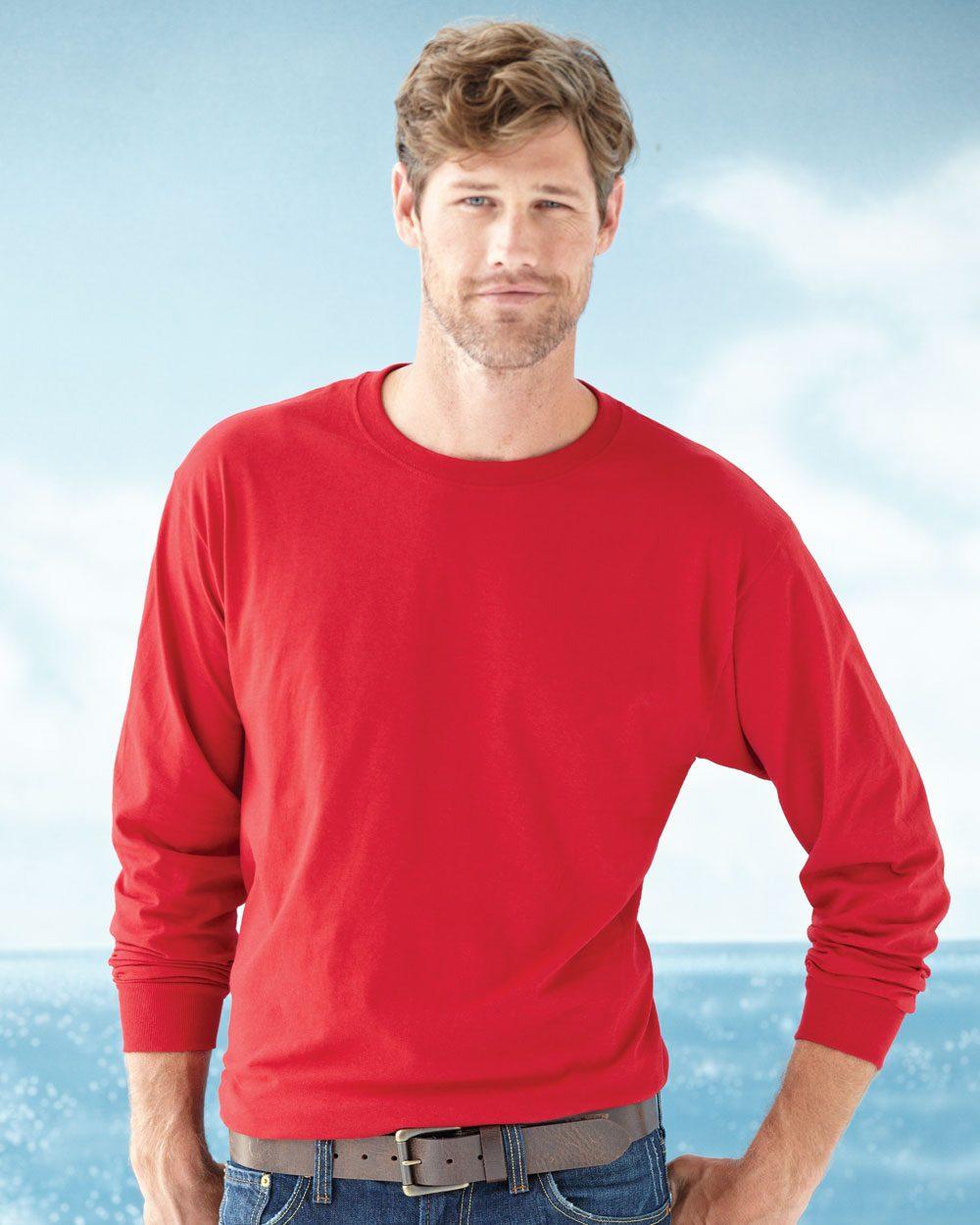 Jerzees 363LSR - HiDENSI-T Long Sleeve T-Shirt