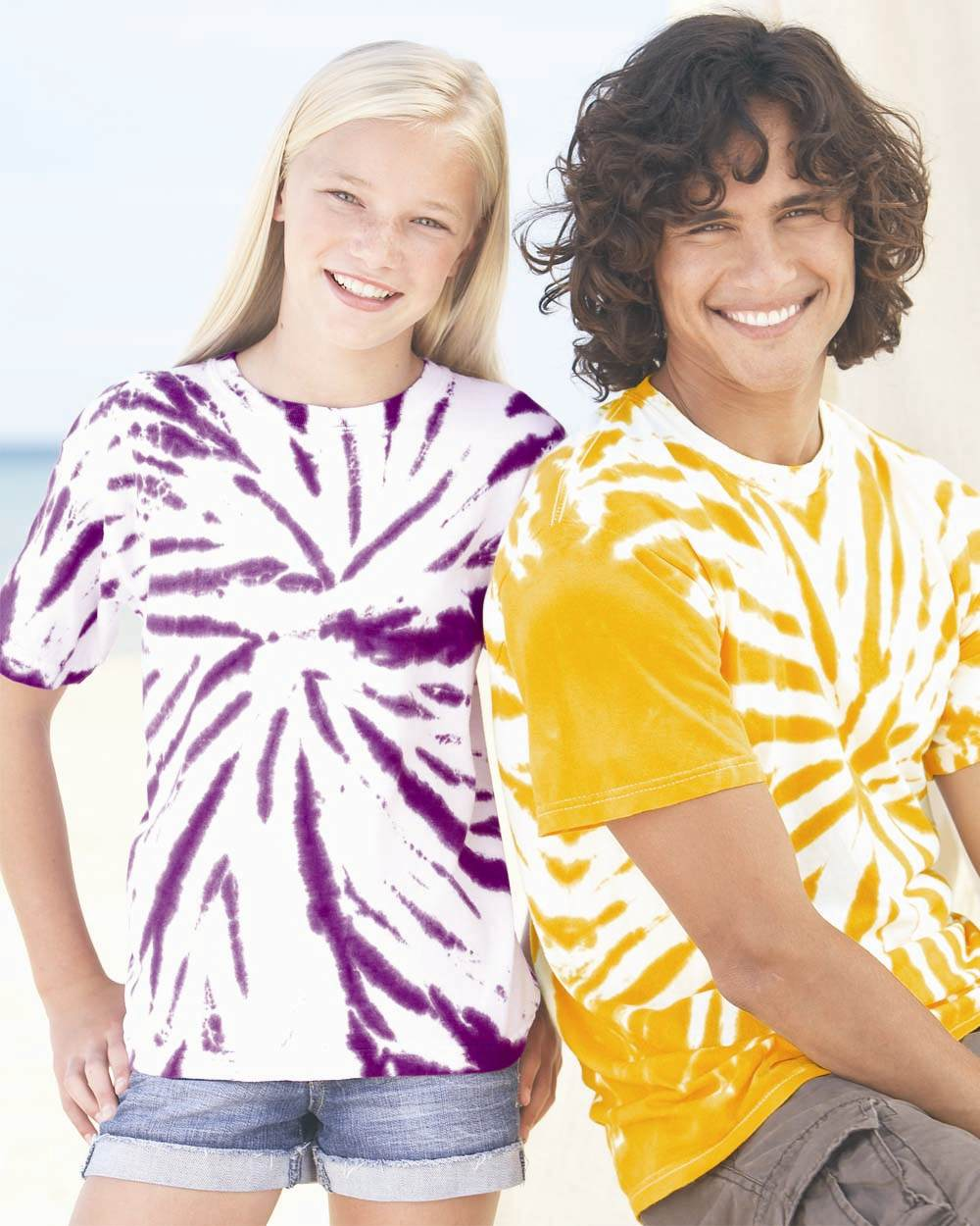 Tie-Dyed 20BPW - Youth Contrast T-Shirt