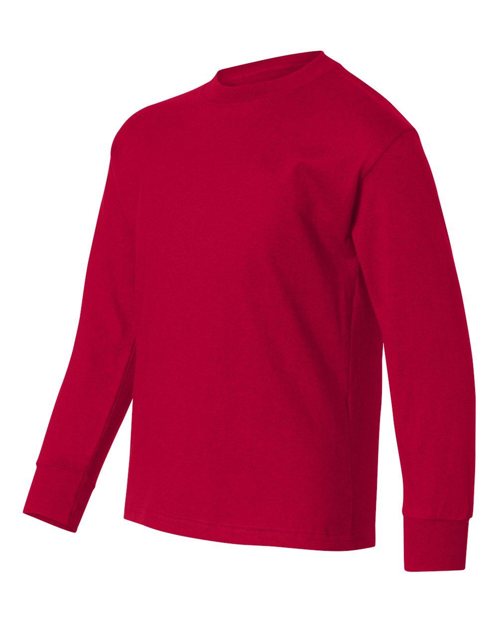 Hanes 5546 - TAGLESS Youth Long Sleeve T-Shirt