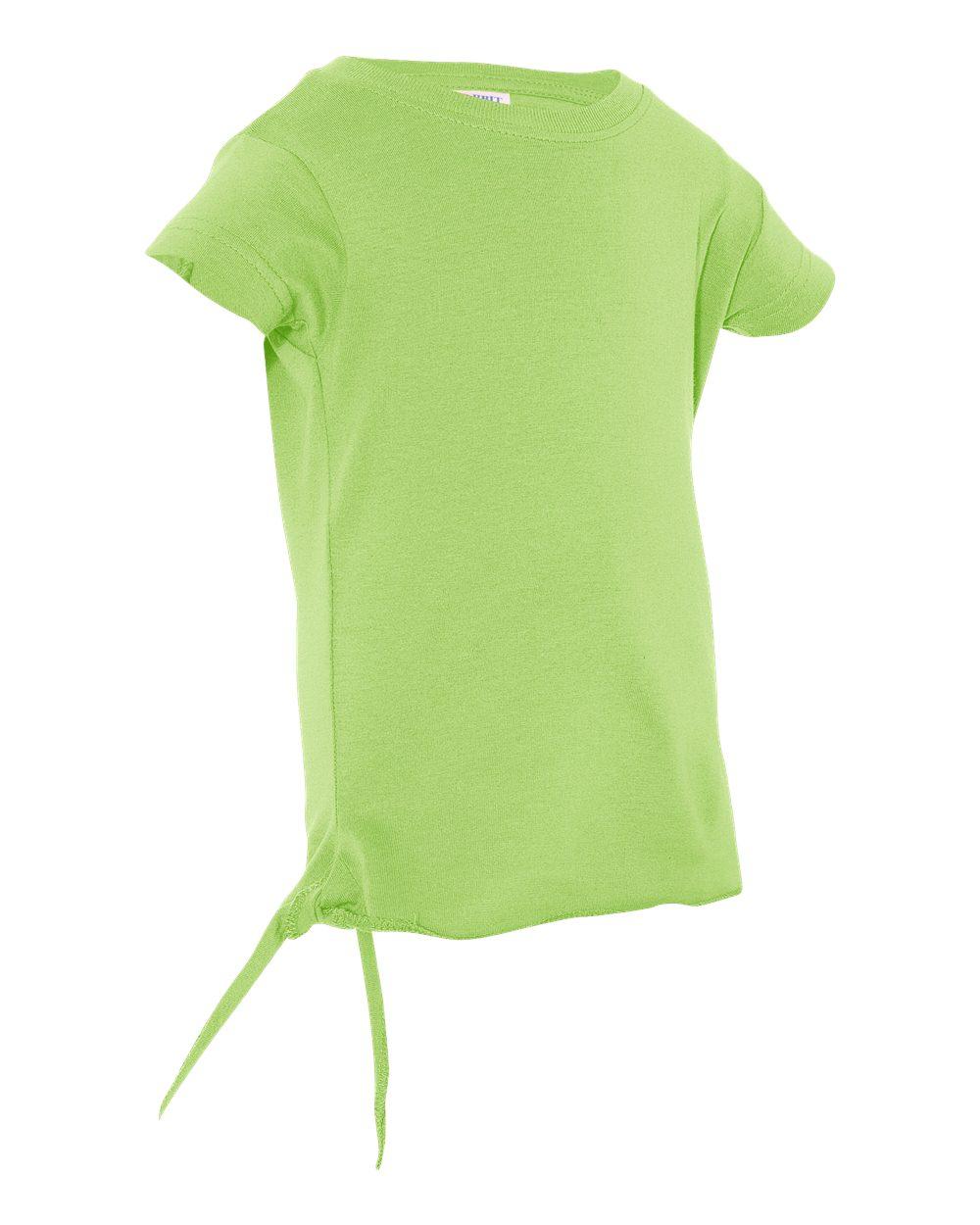 Rabbit Skins 3325 - Toddler Jersey Side Tie T-Shirt $3.80 ...