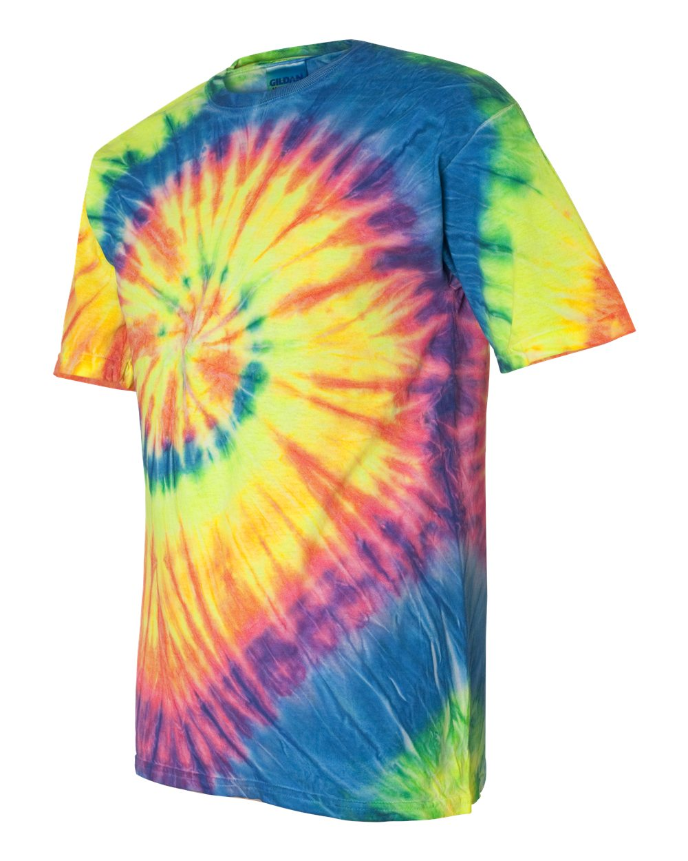 Dyenomite 200MS - Multi-Color Spiral Short Sleeve T-Shirt