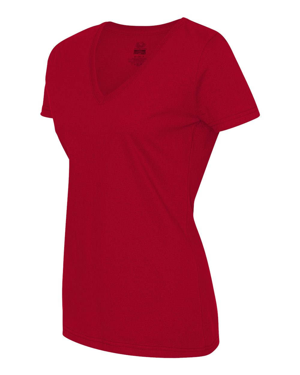 Fruit Of The Loom L39vr Ladies 39 Heavy Cotton Hd V Neck T