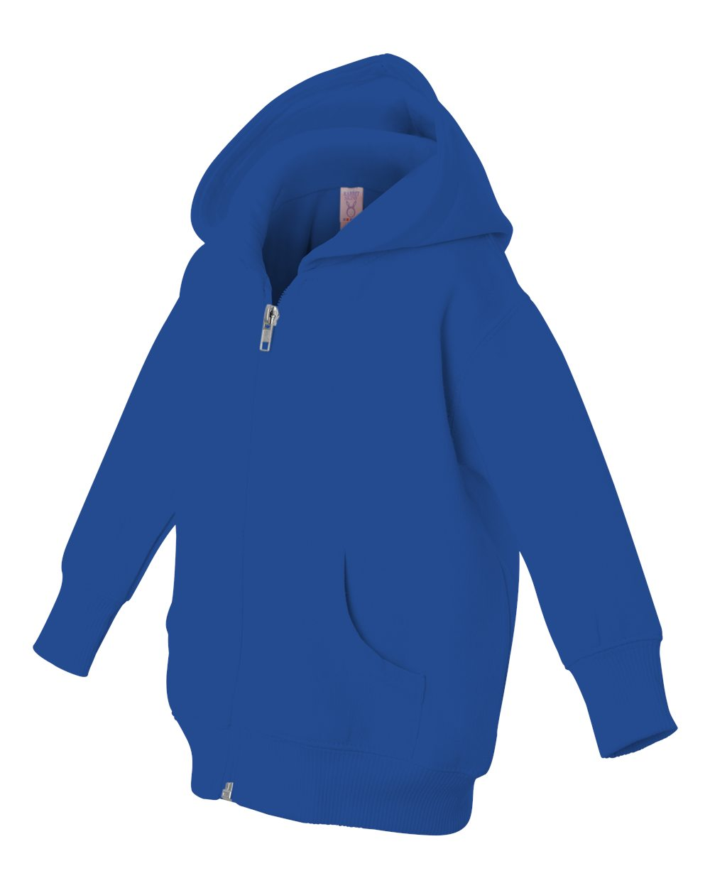 Rabbit Skins 3446 - Infant Hooded Full-Zip Sweatshirt