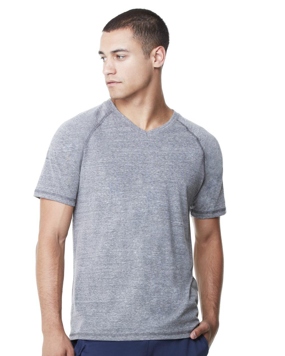 alo - Triblend Short Sleeve V-neck T-Shirt