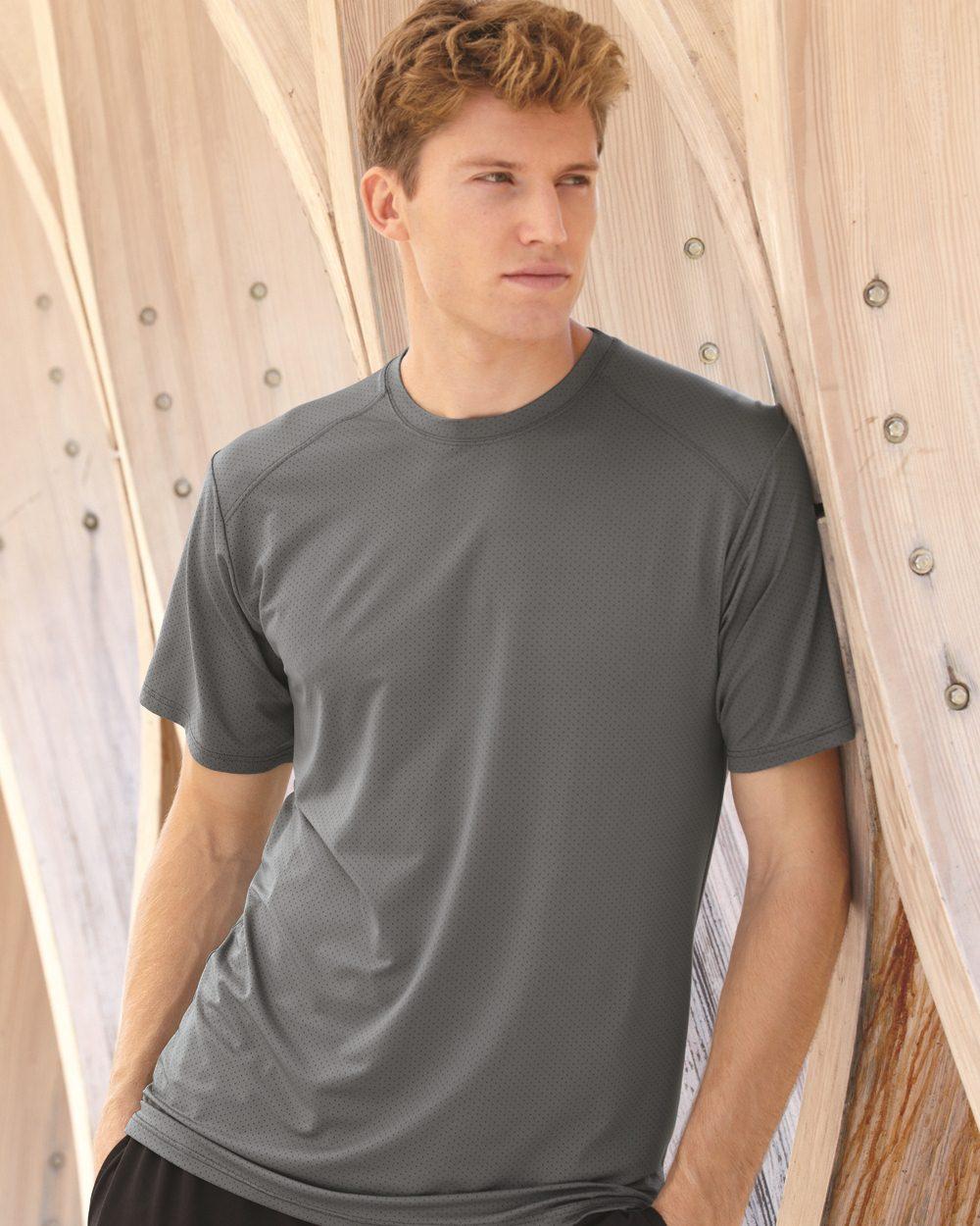 Augusta Sportswear 1070 - Exa Pinhole Mesh Short Sleeve ...