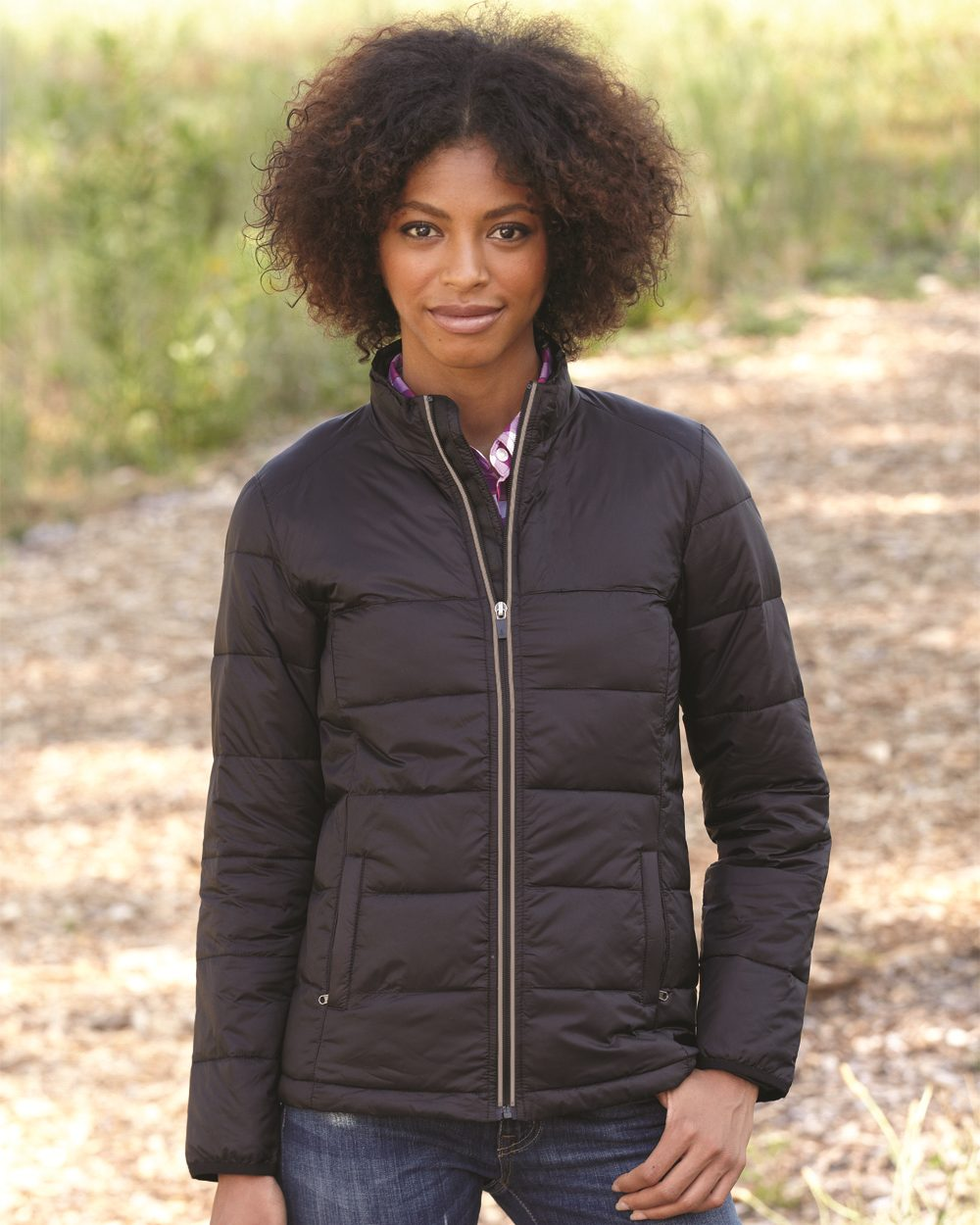 Colorado Clothing 7311 - Ladies' Packable Puffer Jacket