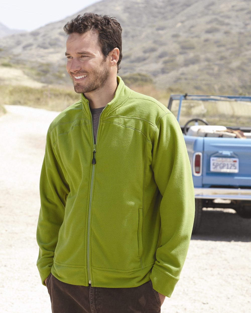 Colorado Clothing 5289 - Lightweight Microfleece Full-Zip Jacket