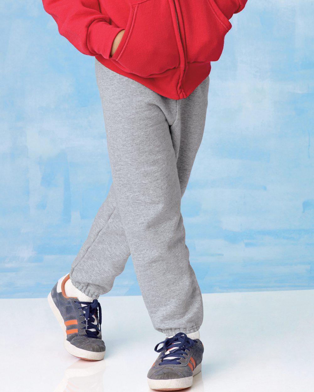 Hanes 恒适 P450 舒适混合中青年青少年宽松运动裤