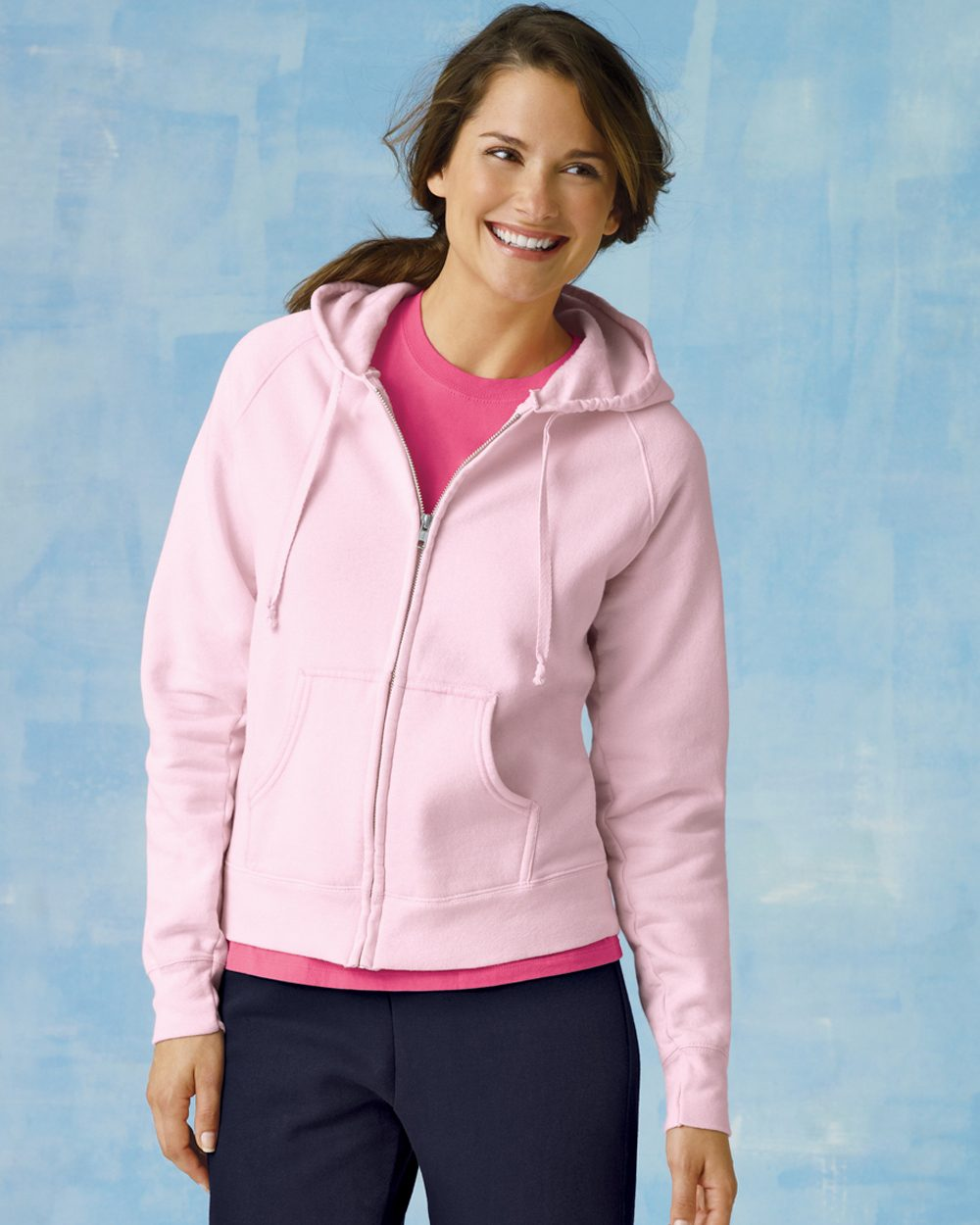 Hanes W280 - Ladies' Full-Zip ComfortBlend EcoSmart ...