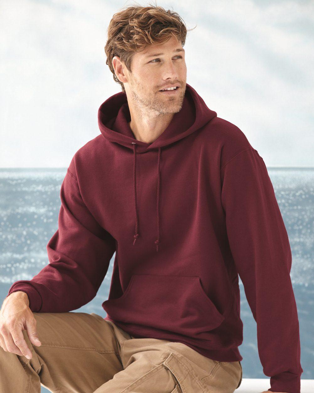 JERZEES 4997MR - NuBlend SUPER SWEATS Hooded Sweatshirt