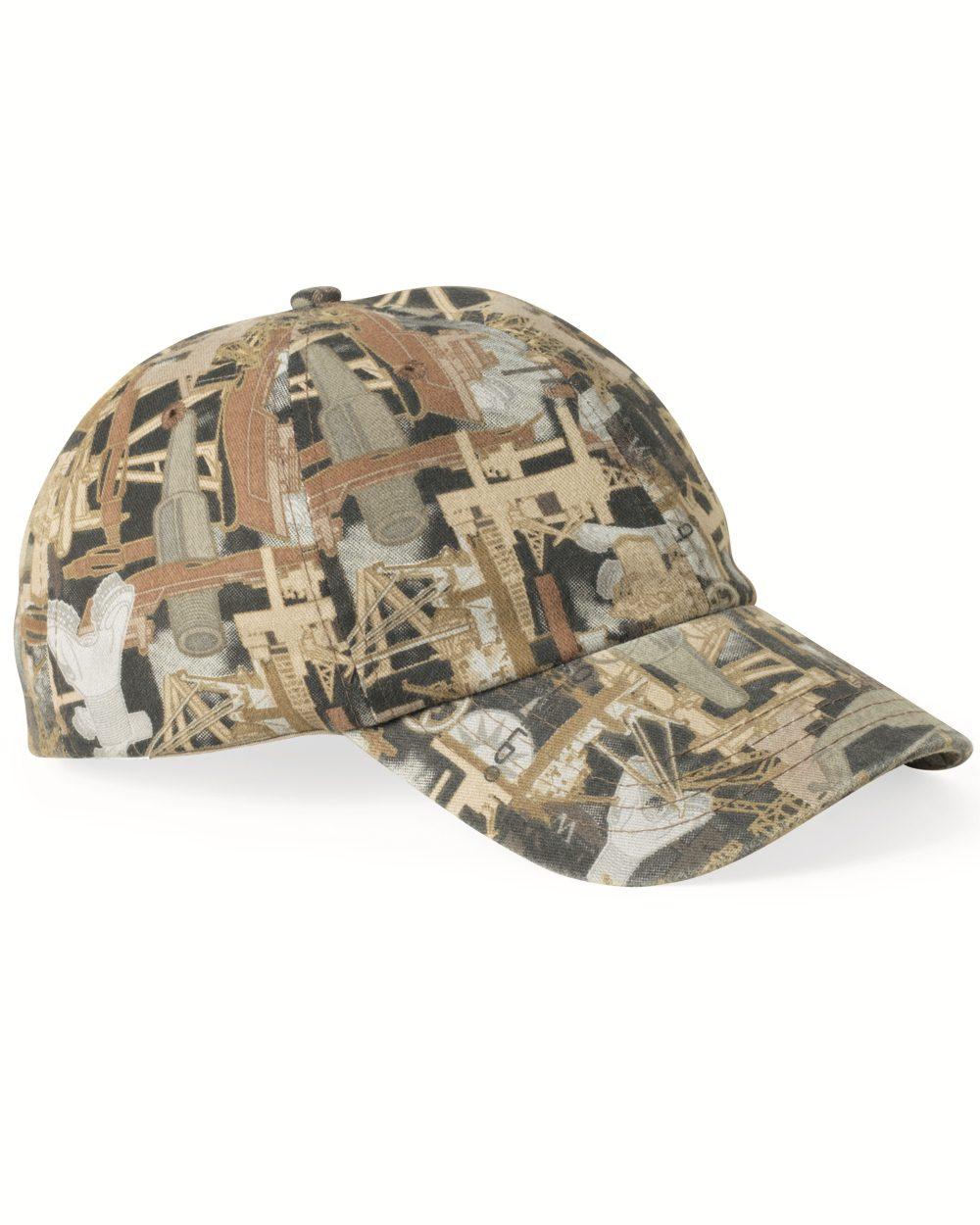 Kati OIL17纯色迷彩帽子