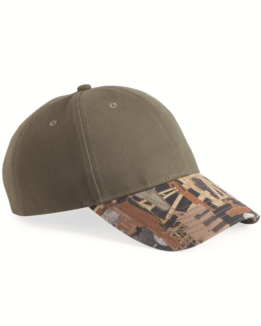 Kati OIL25 - Solid Crown with Oilfield Camo Cap