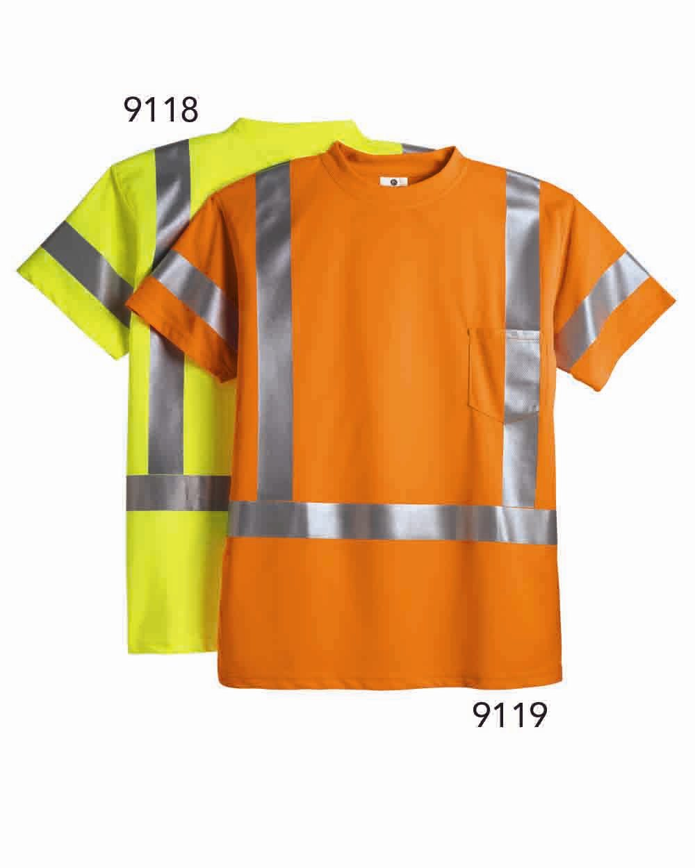 ML Kishigo 9118-9119 - Class 3 Short Sleeve T-Shirt