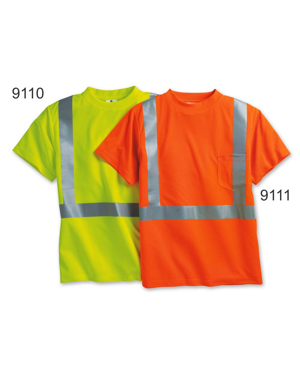 ML Kishigo 9110-9111 - High Performance Micro-Fiber T-Shirt